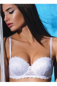Sujetador Balconette con Push-UP gradual S1833