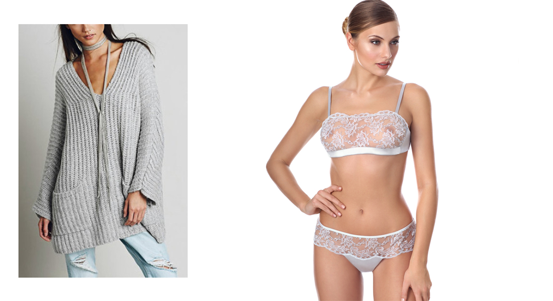 Body y jersey, una combinación especial de ropa interior con ropa exterior