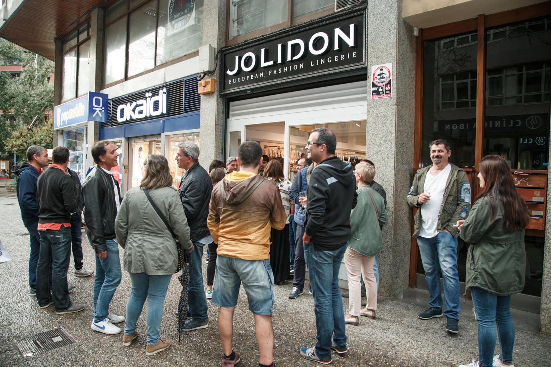 Inauguración tienda Jolidon Girona